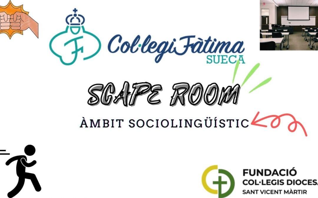 Scape Room – Àmbit Sociolingüístic 🗻