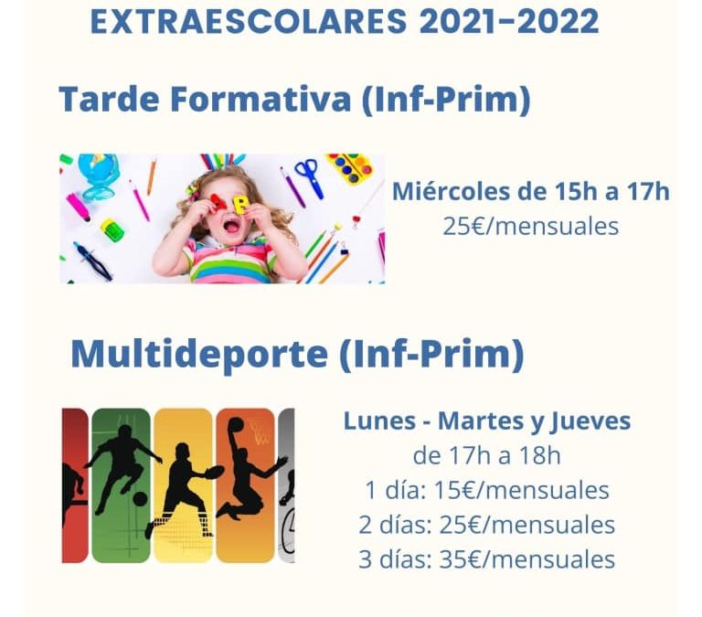 Extraescolars 2021-22 ⛹