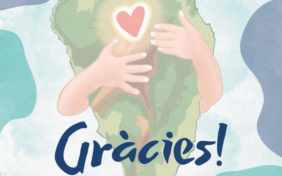 Les famílies del col·legi amb Càritas Tenerife ❤️🔥